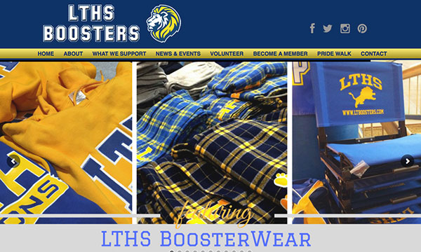 Lyons Township HS Boosters website